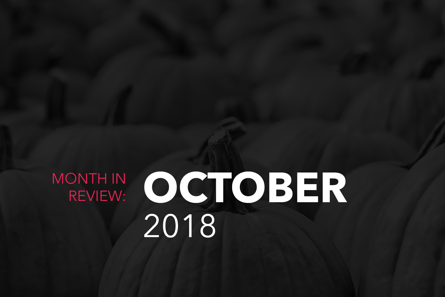 October Month End