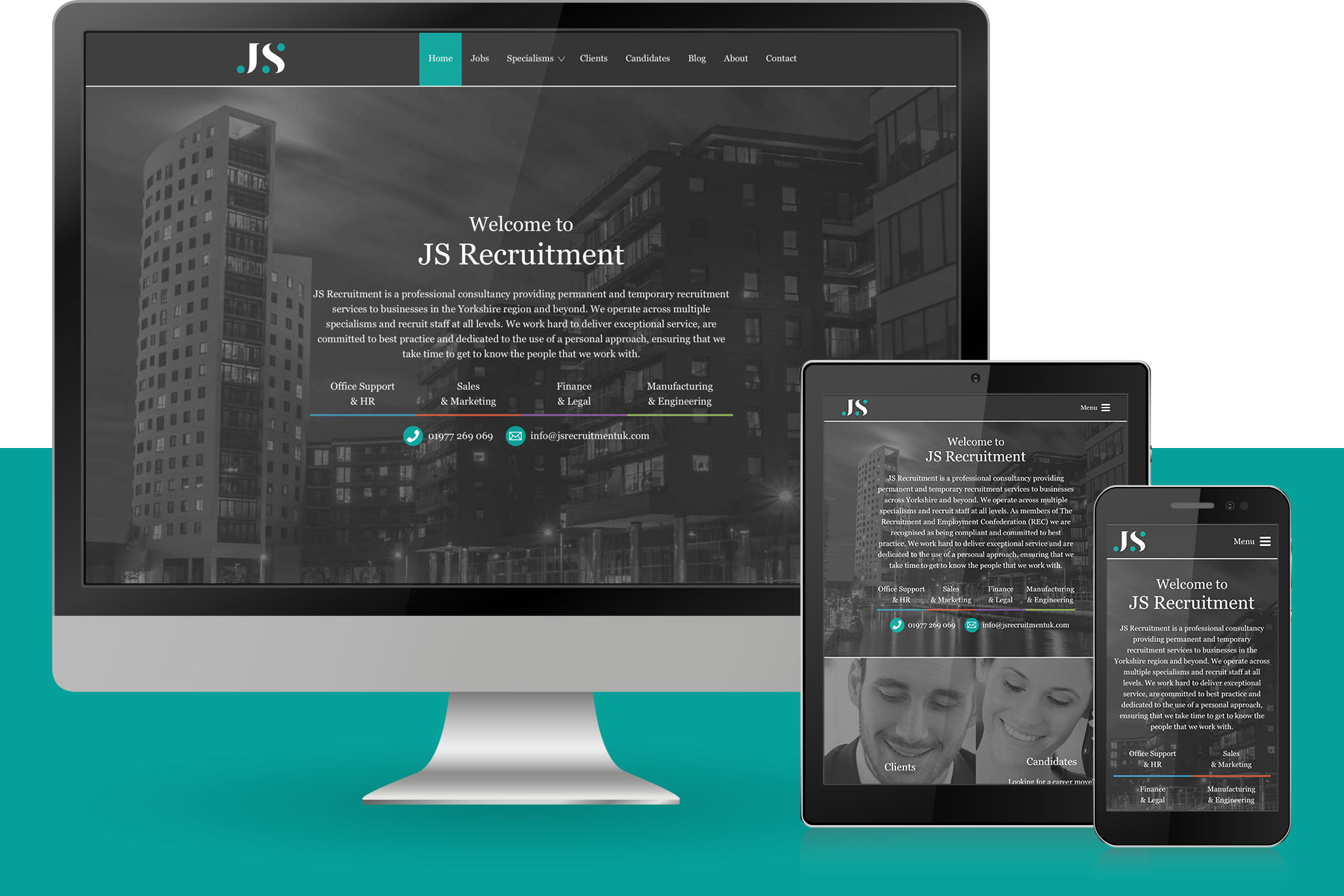 recruitment website design