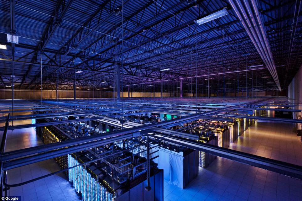 google server room