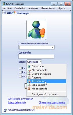 MSN Messenger Login