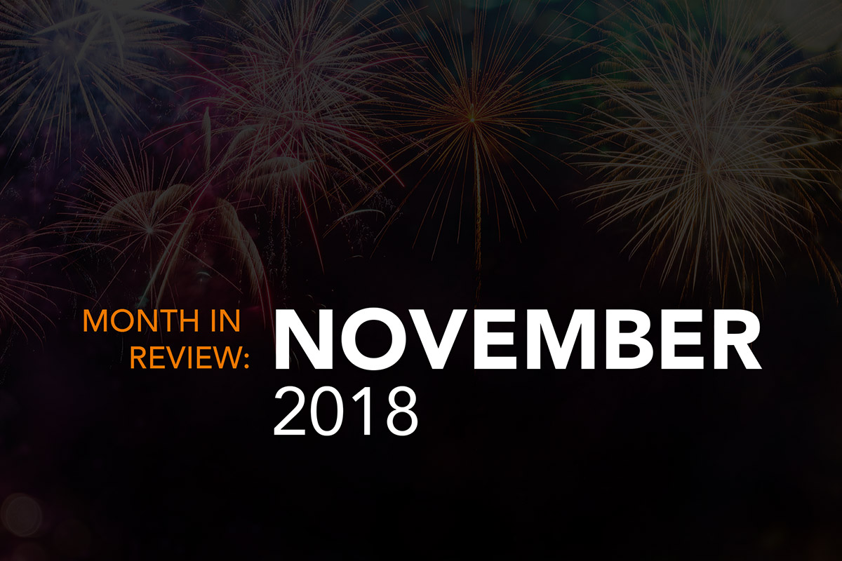 November 2018 month review